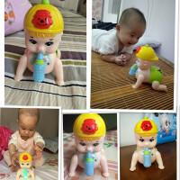 儿童电动玩具会唱歌跳舞婴儿爬行娃娃音乐0-3岁男女孩6-8-12个月