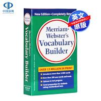 现货 英文原版 Merriam Webster Vocabulary Builder 英文辞典 韦氏字根词典字典 英语