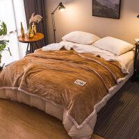 毛毯加厚 冬季法兰绒床单毯子双人绒毯毛巾被沙发午睡毯 珊瑚绒毯