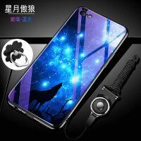 iphone6手机壳苹果6s玻璃保护6plus硅胶套i6防摔6p女款ip6潮6sp个性puls潮全包