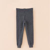 儿童仿羊绒裤加厚薄款秋冬季针织打底裤保暖裤宝宝男童女童羊毛裤