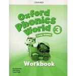 牛津自然拼读法 Oxford Phonics World 3 Workbook 练习册 英文原版 Level 3级 牛