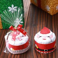 创意毛巾礼盒圣诞节礼物小礼品实用幼儿园儿童女生平安夜定制批�l