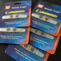 卡装WILSON 维尔胜硅胶网球拍避/减震器 长条外置避震器/结 透明色