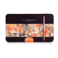全国包邮马可雷诺阿3100专业油性彩色铅笔 100色彩铅 铁盒装涂色填色彩笔
