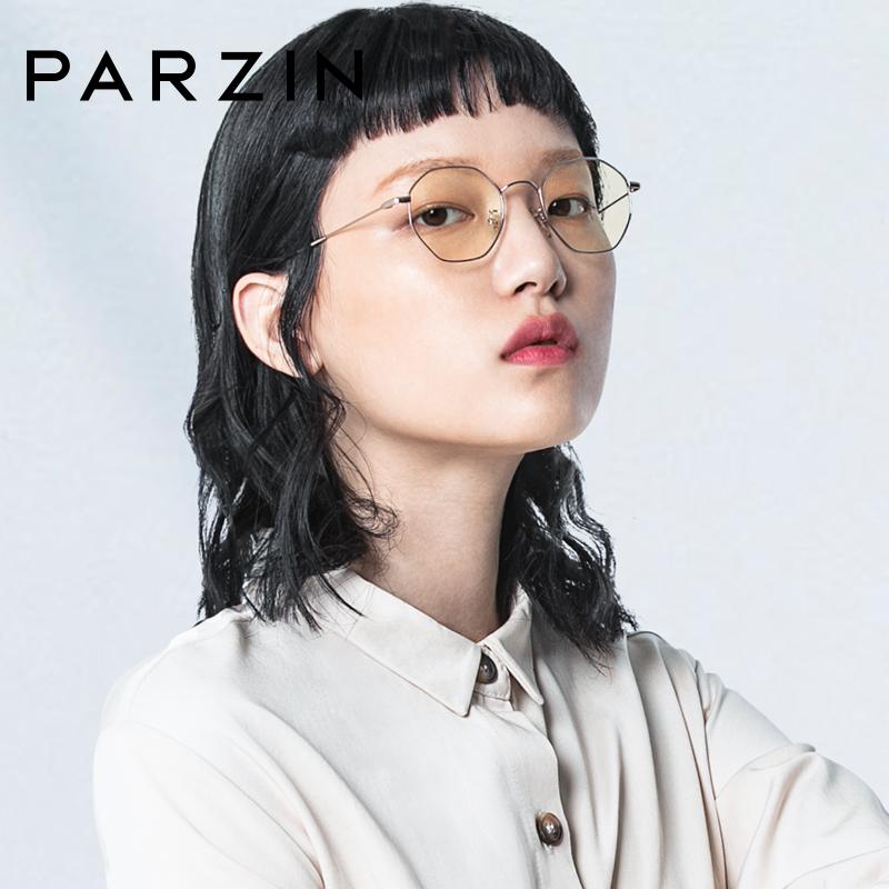 帕森防蓝光眼镜架 女士金属多边形电脑护目眼镜框 15738L满198减20;299减30。年终型潮,镜情享购!
