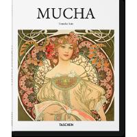 现货塔森出版 阿尔丰斯・慕夏 英文原版 MUCHA 捷克绘画大师 跨越多个艺术领域大师 绘画艺术作品集 艺术进口书籍正版