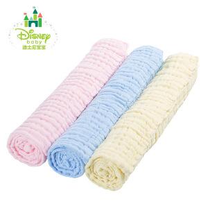 【2件3折】迪士尼Disney新生儿用品婴儿浴巾超柔软吸水宝宝纱布浴巾153P685