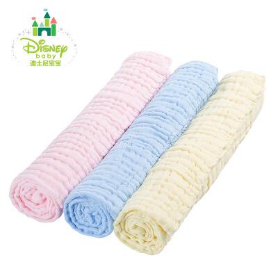 迪士尼Disney新生儿用品婴儿浴巾超柔软吸水宝宝纱布浴巾153P685 6层纱布纯棉浴巾