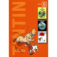 The Adventures of Tintin Vol.6 丁丁历险记合集6 ISBN 9780316357241