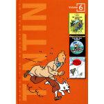 The Adventures of Tintin Vol.6 丁丁历险记合集6 ISBN 9780316357241