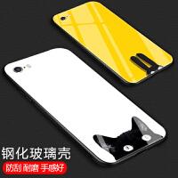 苹果6splus手机壳iPhone6钢化玻璃苹果6s镜面保护套ke挂绳全包软硅胶六5s可爱卡通猫咪日 【玻璃壳】苹果6