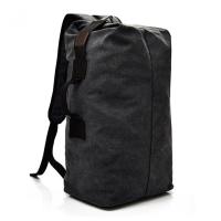 帆布旅行背包男女双肩包运动健身登山手提行囊大容量出差行李包袋