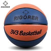 准者定制款3V3篮球 室内外通用耐磨7号l篮球硬地吸湿PUlanqiu