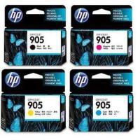 原装正品惠普905黑色墨盒 905彩色墨盒适用于pro6960 6970 6950 HP905打印机墨盒 905XL大