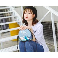时尚新款印花女包单肩斜跨包韩版时尚小包包0506