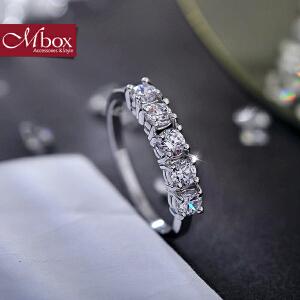 新年礼物Mbox戒指 日韩女款采用波西米亚风元素时尚戒指指环戒圈 一行承诺