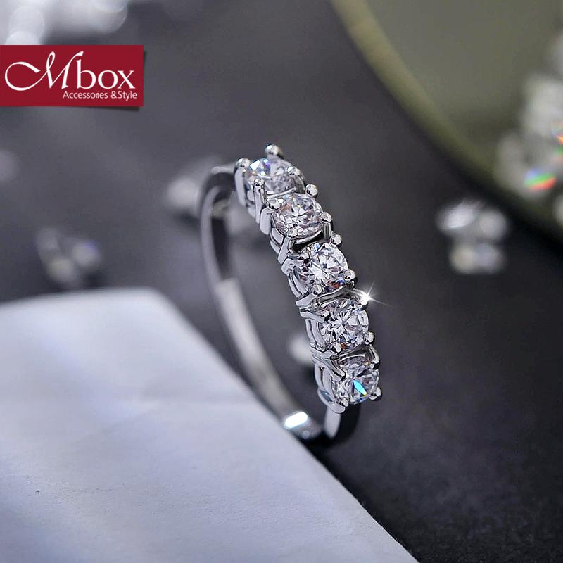 新年礼物Mbox戒指 日韩女款采用波西米亚风元素时尚戒指指环戒圈 一行承诺韩版潮流 小资原创 送精美包装
