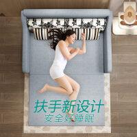 沙发床多功能可折叠客厅现代简约实木 双人两用1.5米1.8沙发床o2f