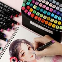 马克笔套装touch正品学生用36色装彩色双头小学生初学者动漫漫画手绘笔肤色专用30/48/60/80/168色24绘
