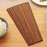 【满减】欧润哲 精装版厨房鸡翅木筷套装 20双