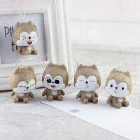 「小松鼠包挂」可爱卡通陶瓷包包挂件可爱钥匙扣创意女生礼物礼品