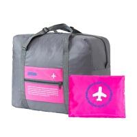 旅行收纳袋防水大容量衣物整理袋可折叠行李包旅游便携尼龙手提包