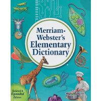 M-W's Elementary Dictionary 韦氏基础字典(适合8-11岁,例句引自经典儿童文学)ISBN9