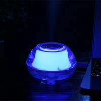 创意迷你USB夜光水晶加湿器 LED小夜灯香薰机创意小家电