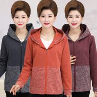 中老年人女装春秋装外套30岁40短款2018新款50中年妈妈装夹克上衣