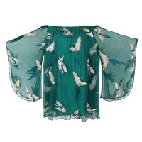 刺绣短裙超仙沙滩裙海边度假抹胸连衣裙网纱三亚旅游裙子泰国