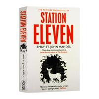 第十一站 英文原版小说 Station Eleven 英国科幻文学奖 英文版科幻小说书 进口原版英语书籍