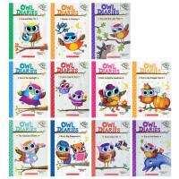 猫头鹰日记英文原版 Owl Diaries 8册套装 桥梁章节书 Scholastic Branches 学乐大树系列 6-9-12岁青少年英语章节桥梁小说阅读故事书
