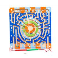 木丸子磁性铁运笔迷宫益智力走珠游戏女孩男宝宝3-5-6岁儿童玩具