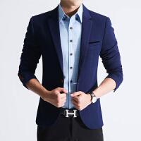 春季男休闲西服男士韩版修身型小西装厚外套青年商务男装上衣薄款
