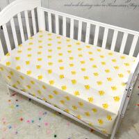 定做婴儿床单纯棉新生儿床单宝宝床笠儿童床单床罩被套幼儿园床单