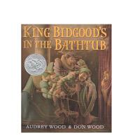 英文原版 King Bidgood's in the Bathtub 浴缸里的国王