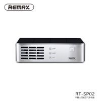 REMAX/睿量RT-SP02太阳能车载空气净化器香薰除甲醛烟味PM2.5