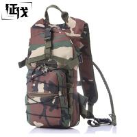 征伐 水袋背包 户外运动水袋双肩背包大容量零负担骑行背包多功能迷彩包