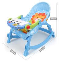 多功能可折叠灯光音乐婴儿摇椅 安抚脚踏琴健身椅摇床儿童宝宝摇椅 健身椅【3689-EF】