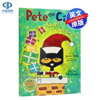 现货 皮特猫 圣诞节大拯救 Pete the Cat Saves Christmas圣诞绘本 Eric艾瑞克儿童绘本 4