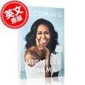 �A售 成�� 米歇���W巴�R自�� Michelle Obama BECOMING 英文原版精�b版 �W巴�R夫人回���