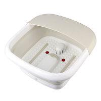 nathome/北欧欧慕折叠足浴盆加热足浴器按摩洗脚盆家用足疗恒温NZY608