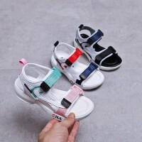 儿童夏季鞋子男童宝宝凉鞋2019新款韩版防滑软底女童运动型凉鞋