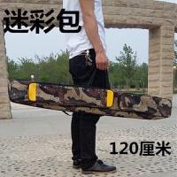 渔具包1.2米双层台钓包钓鱼包渔具包渔竿包垂钓用品 黑色