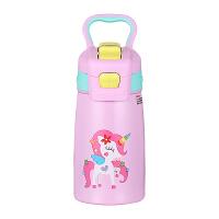 儿童保温杯带吸管男女学生喝水便携宝宝水杯幼儿园水壶