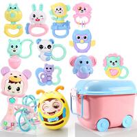20180522032328114婴儿童玩具牙胶手摇铃男孩宝宝0-1岁3-6-12个月5女孩