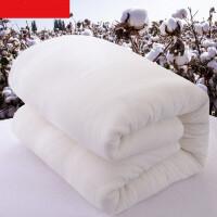 棉被冬季100%纯棉花被新疆棉花被纯一级长绒棉棉絮被子冬季棉被芯手工棉被冬被棉胎