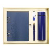 萨搏U盘16G活页笔记本文具套装定制公司会议logo实用礼品礼品logo