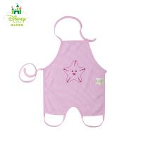 【2件8折到手价:23.2】迪士尼Disney)婴儿新生儿用品婴幼儿纯棉肚兜全棉143P633